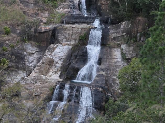 самые красивые водопады шри ланки