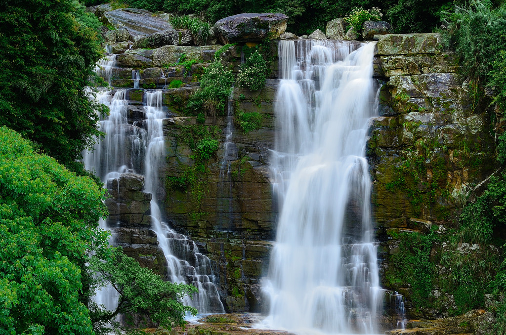 водопад равана шри ланка