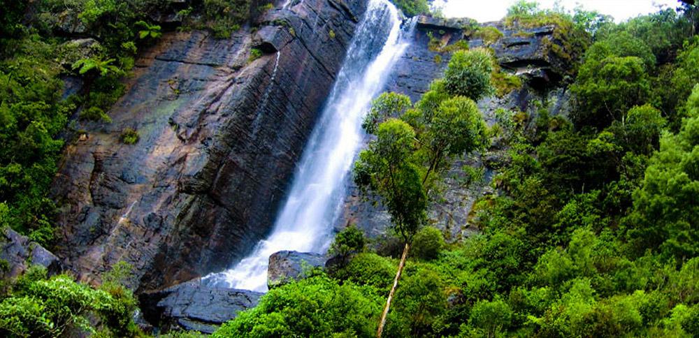 водопады шри ланки