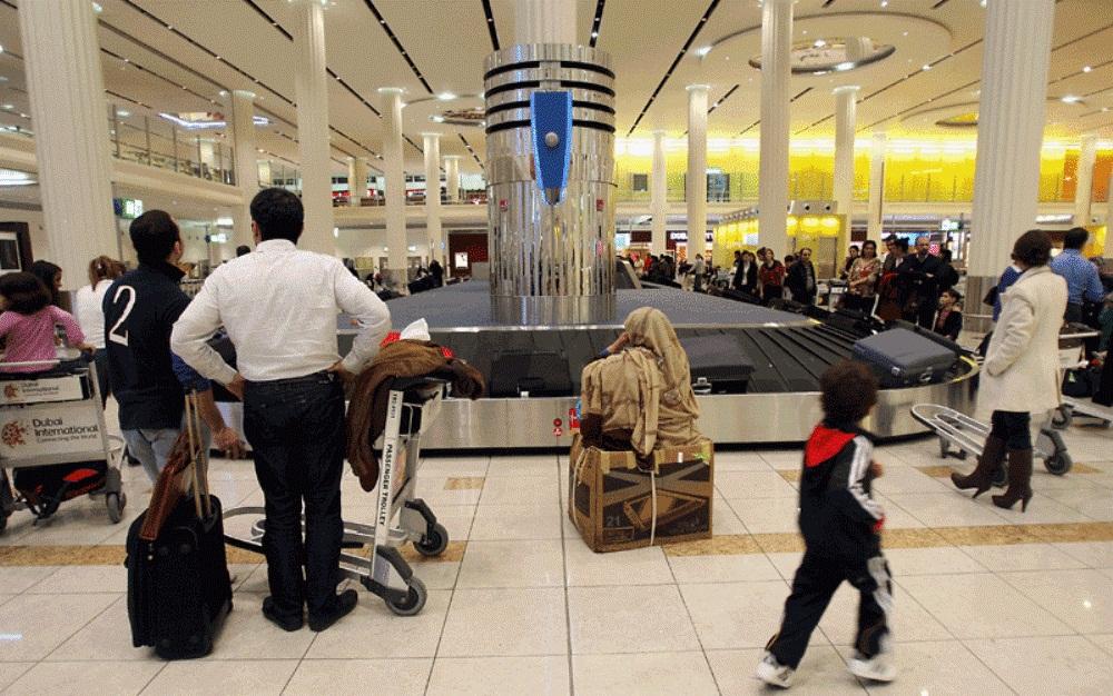 получение багажа