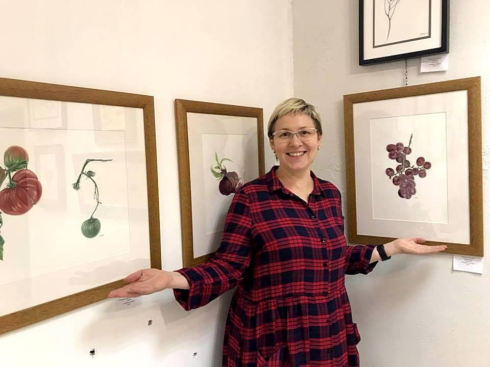 Выставка картин Татьяны Пушной