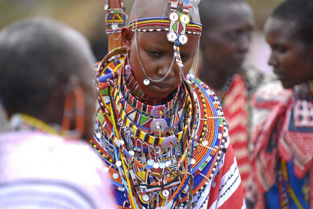 Девушка народа Масаи