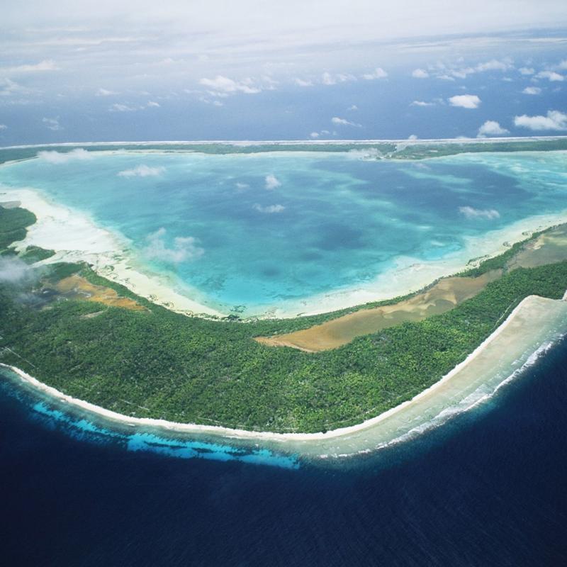 Кирибати острова Лайн время