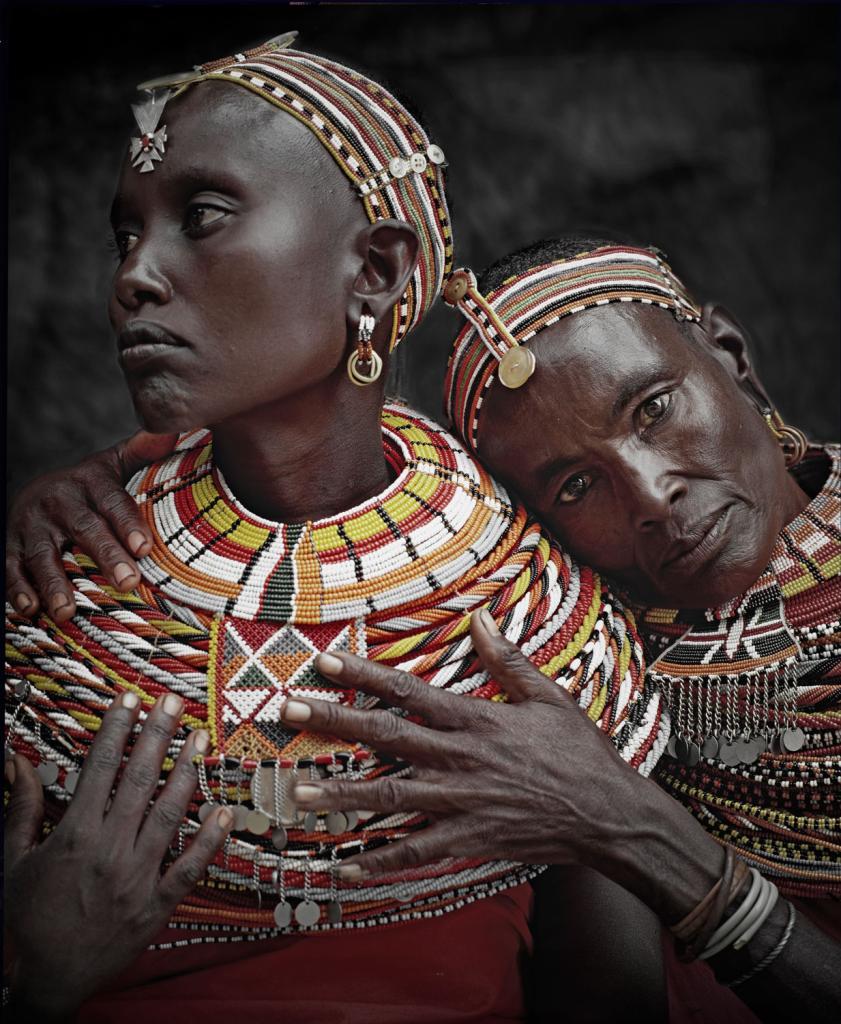 Две африканских женщины