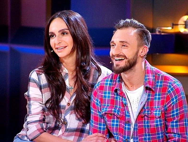 Екатерина Варнава и Константин Мякиньков в шоу