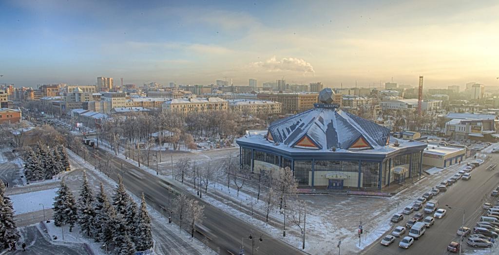 Екатеринбург, Свердловская область зимой