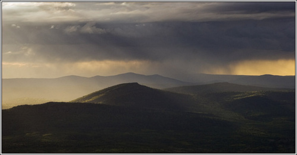 Перед дождем, южный Урал