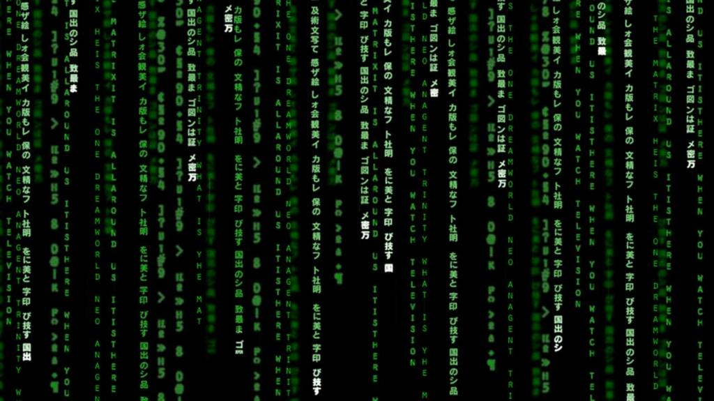 матрица-пример симулякра