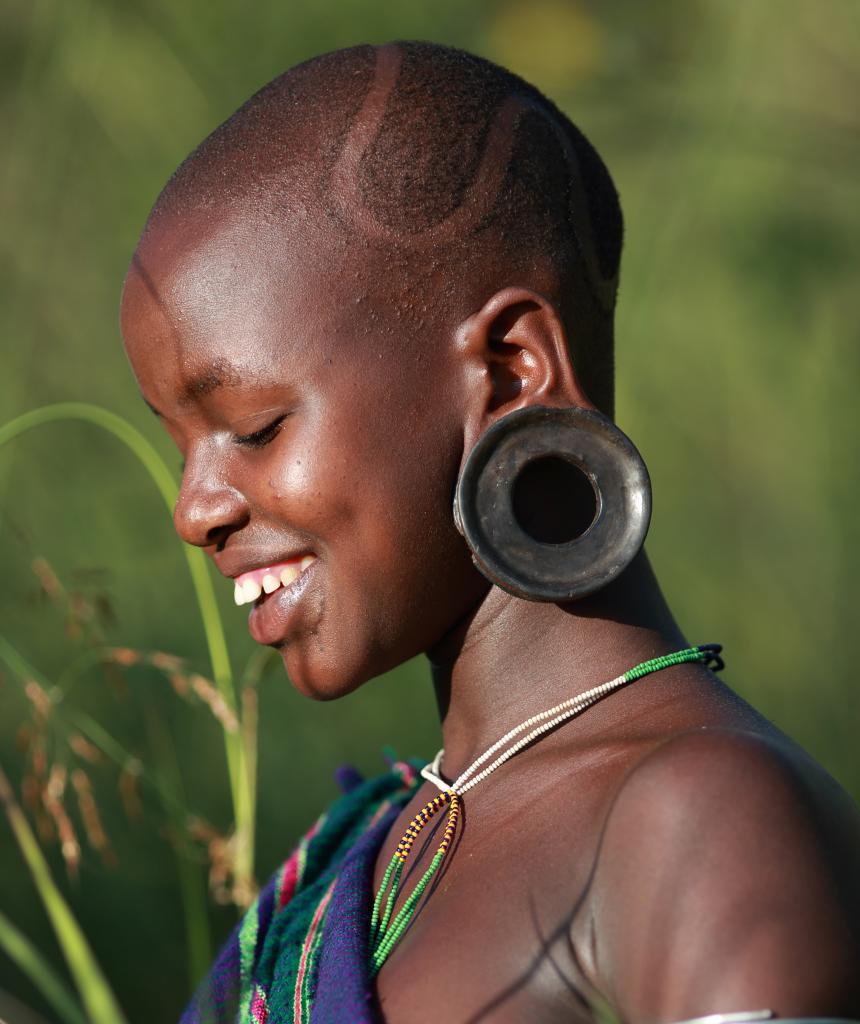Представительница масаи