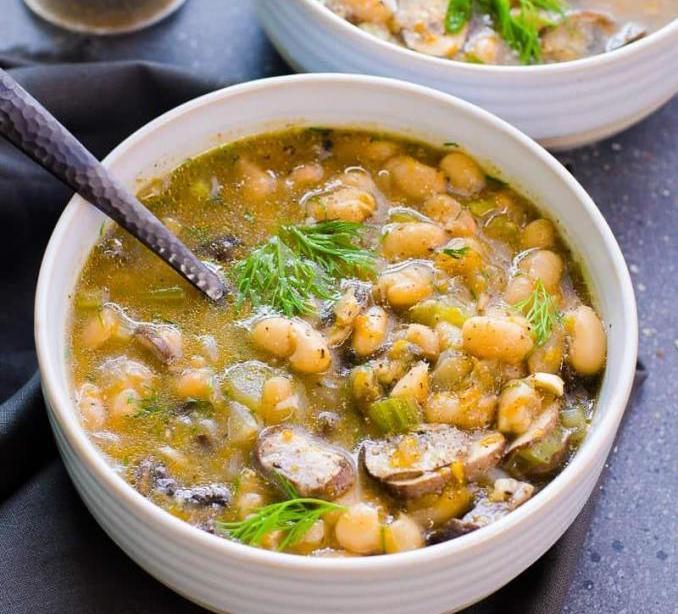 классический рецепт фасолевого супа без мяса