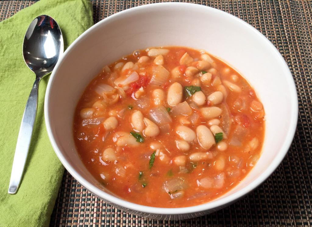 рецепт фасолевого супа без мяса из белой фасоли