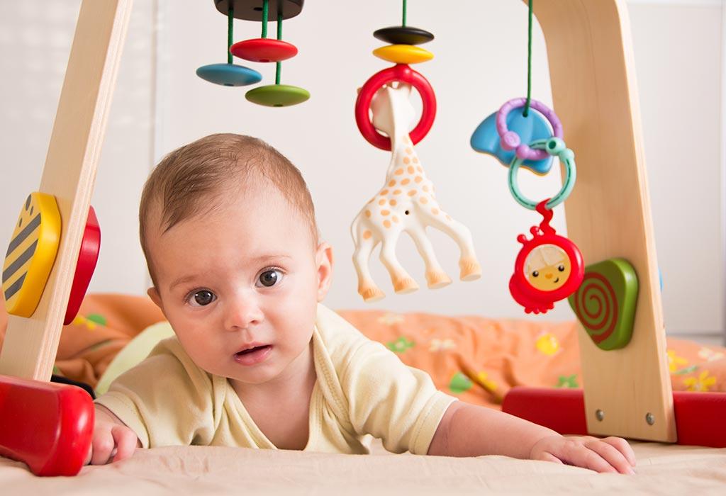 занятия с ребенком 5 6 месяцев