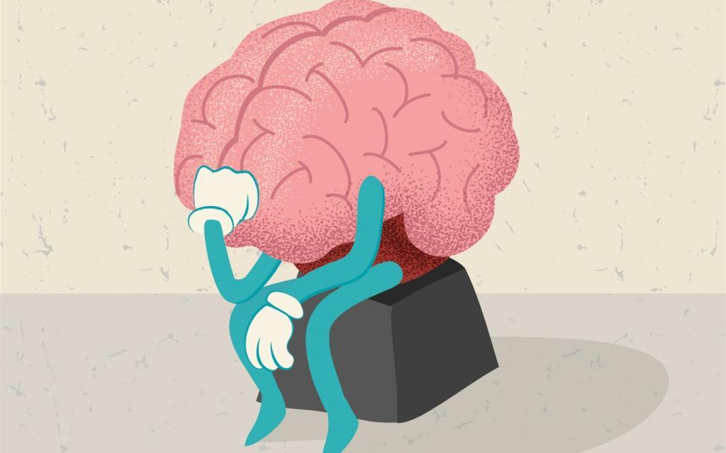 задумчивый мозг