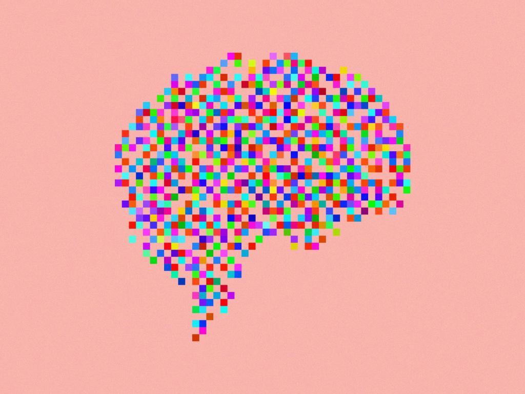 пиксельный мозг