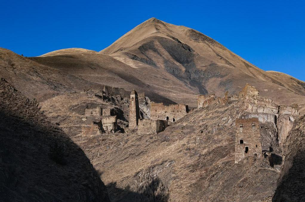 Руины древнего чеченского поселения