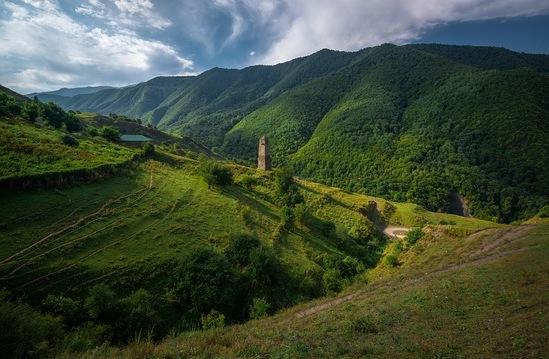 чеченские башни фото