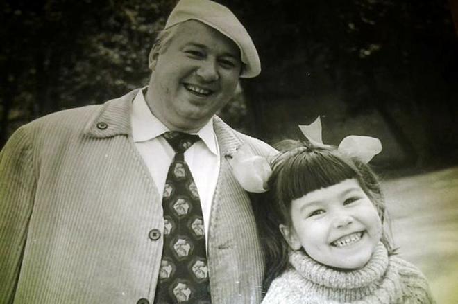 Юрий Волынцев и его дочь