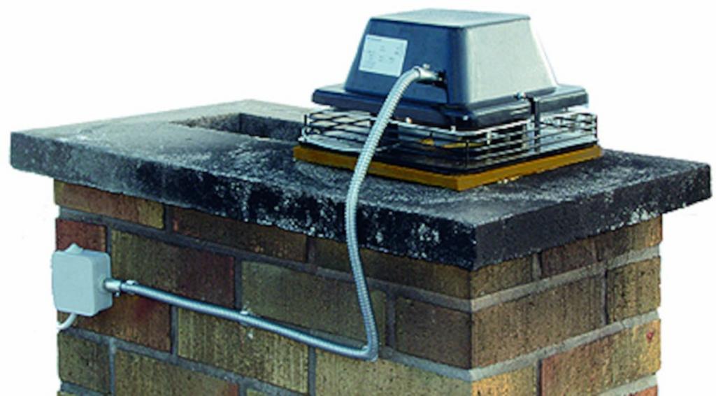 каминный вентилятор дымосос для камина