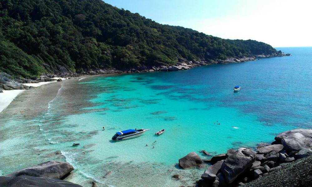 Остров Симилан в Тайланде фото