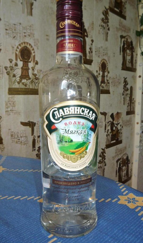 водка славянская мягкая на березовых почках