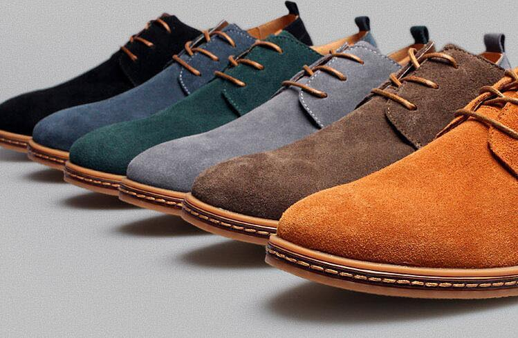 где покрасить замшевую обувь