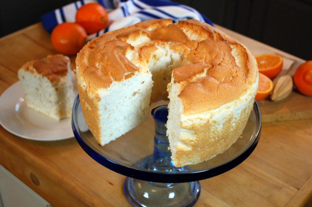пища ангела торт рецепт