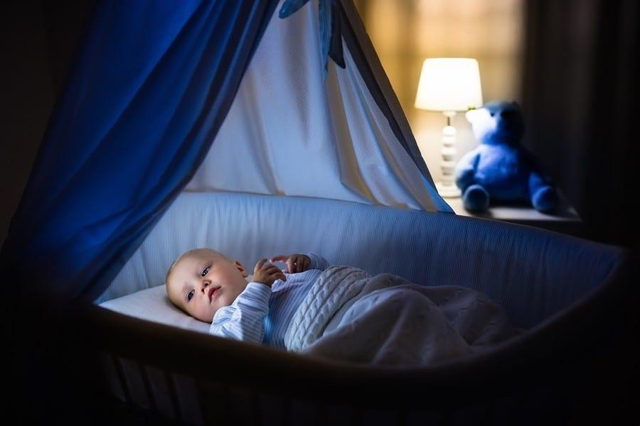 Режим сна грудничка