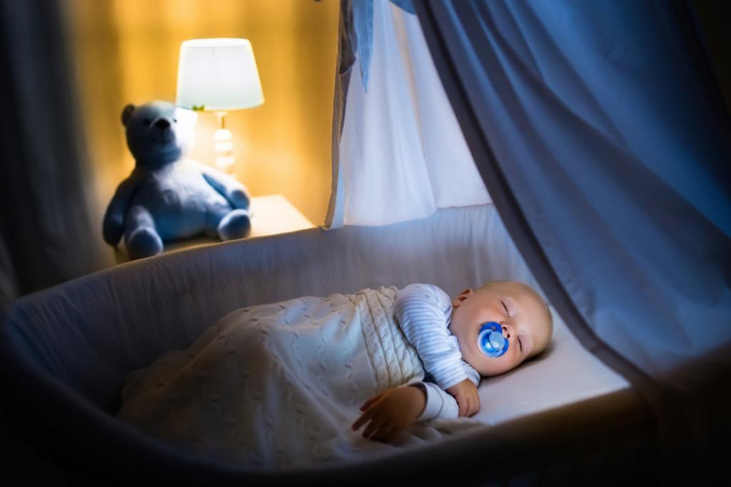Условия сна малыша до года