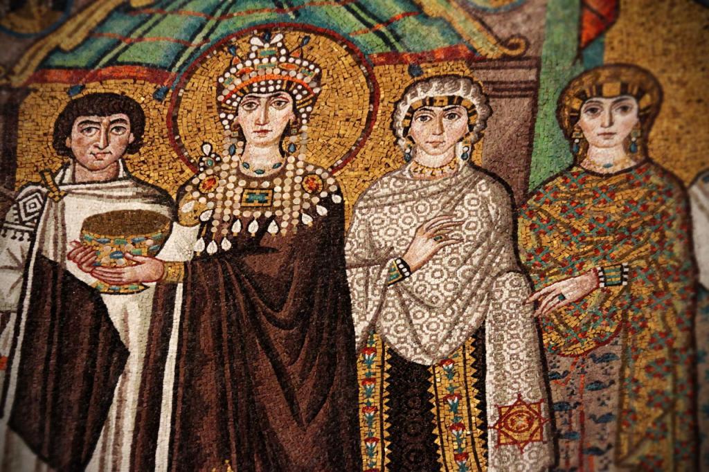 средневековый растительный орнамент