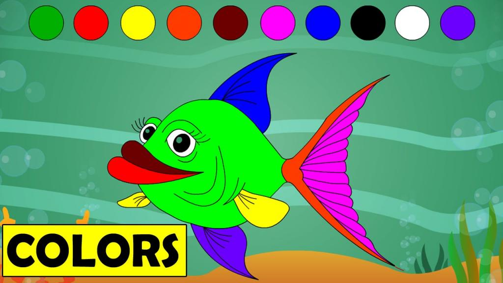 Учим цвета и оттенки
