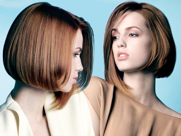 Стрижки боб на средние волосы