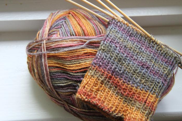 вязание для начинающих носки начало