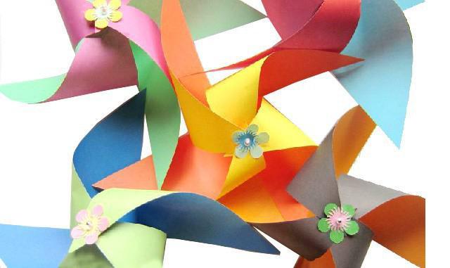 поделки из цветной бумаги и картона