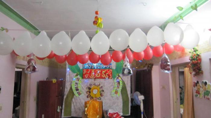 детский день рождения дома фото