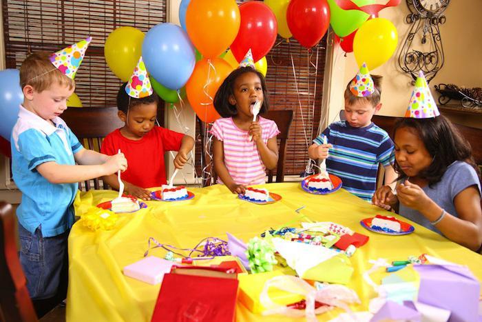детские дни рождения дома