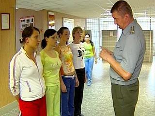 Поступление в военное училище