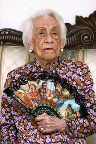 самая красивая старая женщина