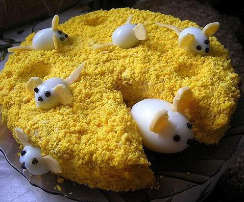 Необычные салаты на день рождения рецепты с