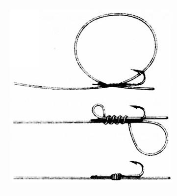 Как правильно привязывать крючок для ловли крупной рыбы