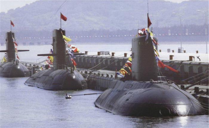 сколько у россии подводных лодок