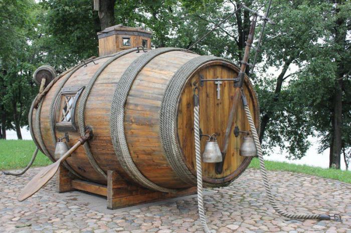 первая подводная лодка в россии
