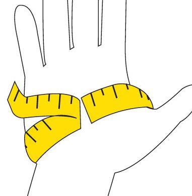 Резмеры женских перчаток фото2