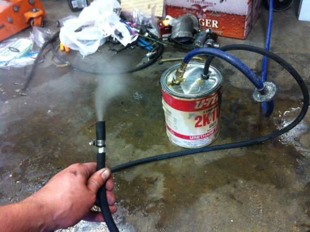 Генератор дыма для автомобиля своими руками 74