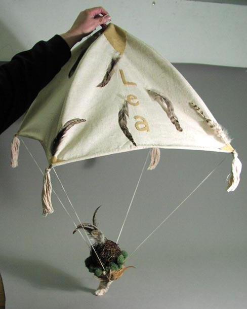 парашют из ткани