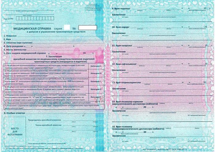 тут На какой срок выдается медицинская справка для водительского удостоверения сжалился над