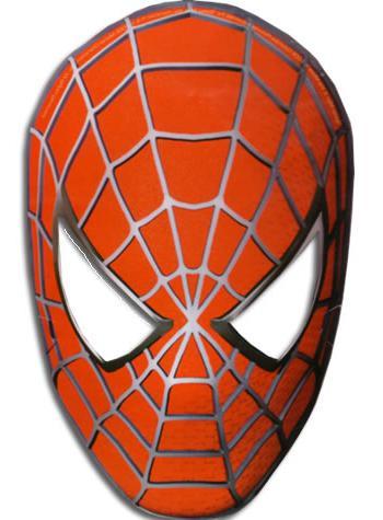 маска человека паука своими руками