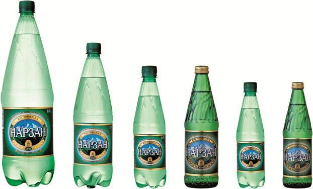минеральная вода нарзан показания