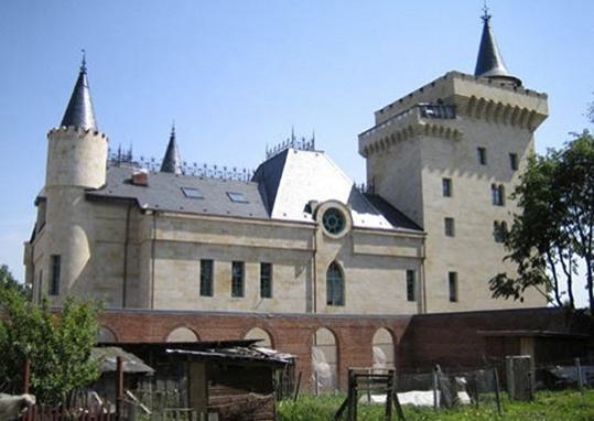 Замок Пугачева и Галкин