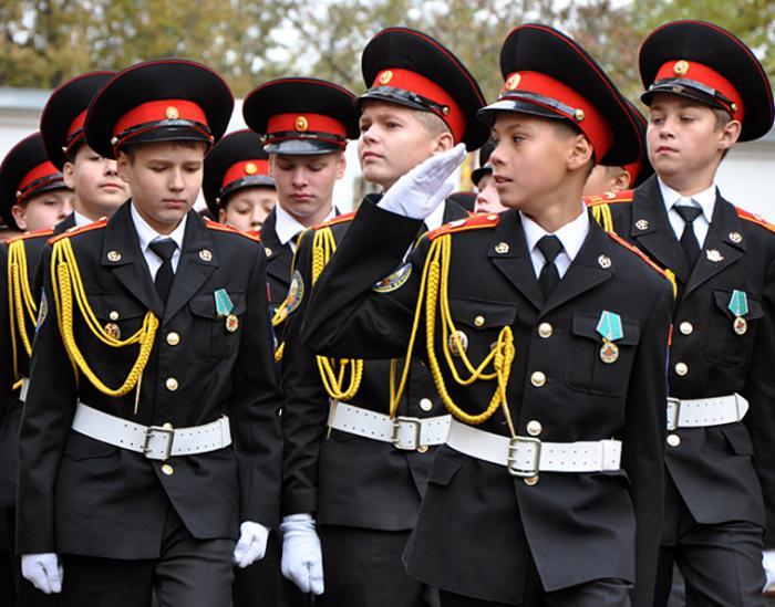 суворовское военное училище Москва
