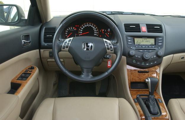 Honda Accord 7 масло